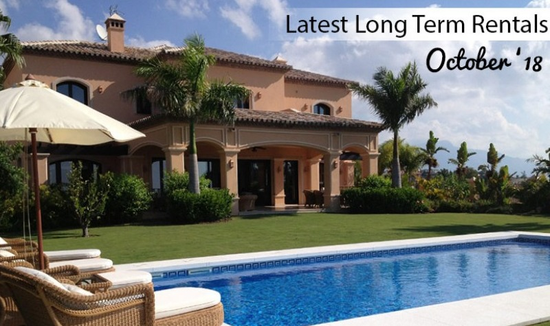 Latest Long Term Rentals October