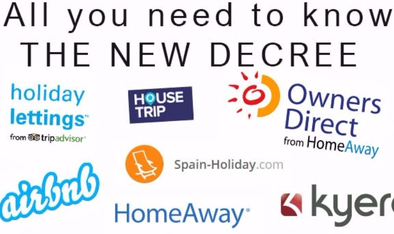 New Holiday Rentals Decree for Andalucia and the Costa del Sol