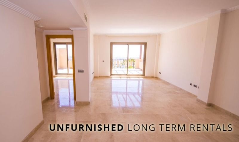 Unfurnished Long Term Rentals Marbella